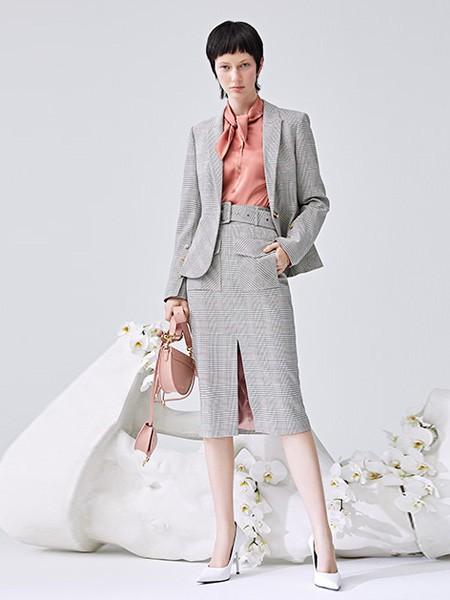 灰色系列职业装穿搭 KAXIWEN教你如何穿出职场经营感