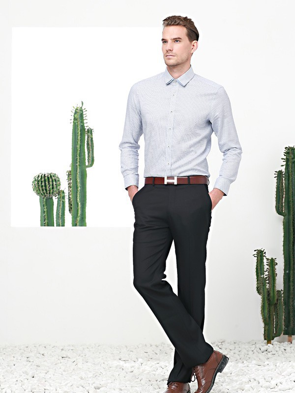 这个秋天该怎样穿?富绅新品衬衫给足男人面子