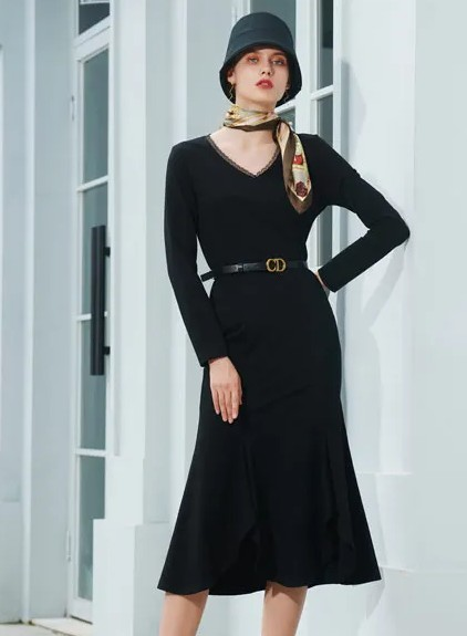 這個秋天的高級感穿搭 例格女裝已經為你準備好了