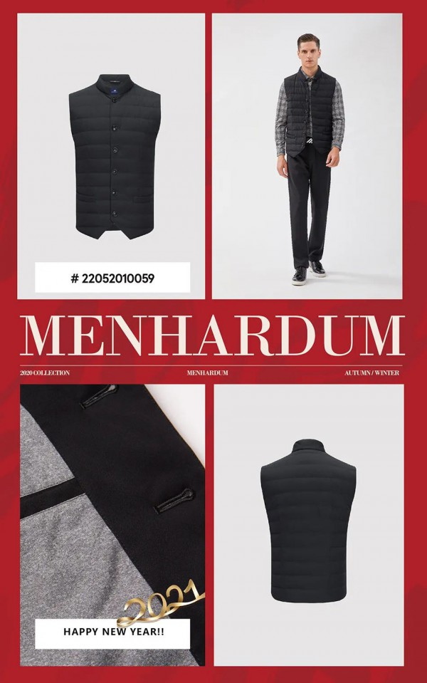 MENHADUM冬裝羽絨 輕熟商務最愛系列