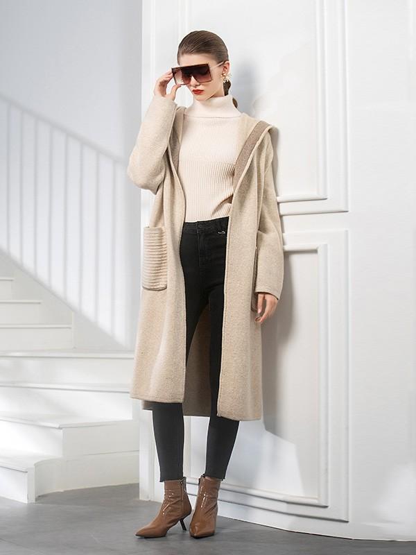 适合冬季的大衣 例格给你经典品质