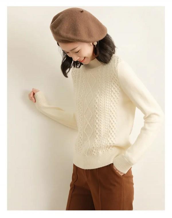 如何将高领毛衣穿得不老气 毛衣什么颜色好看