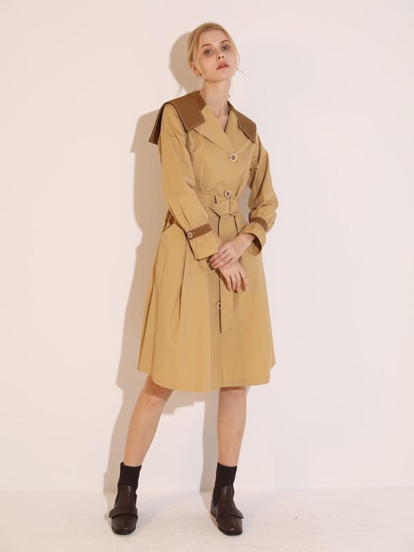 2021年的春天选择这件风衣 打造个性时尚的你