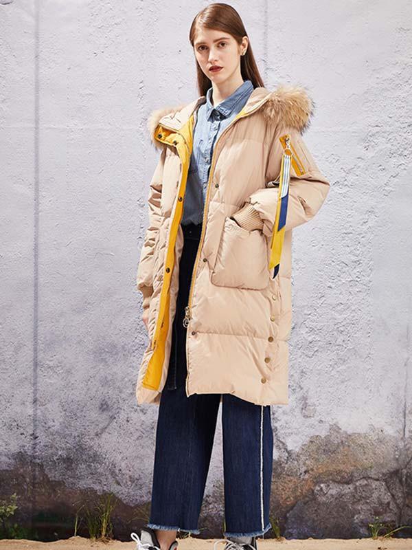 零下温度要穿的羽绒服 YOSUM女装给你温暖的冬天