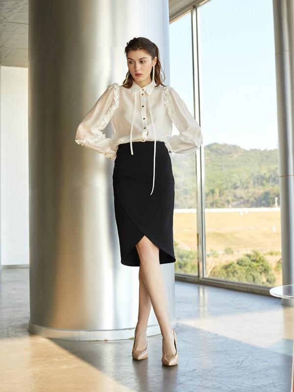 时尚都市白领穿搭 帮你打造轻松办公氛围