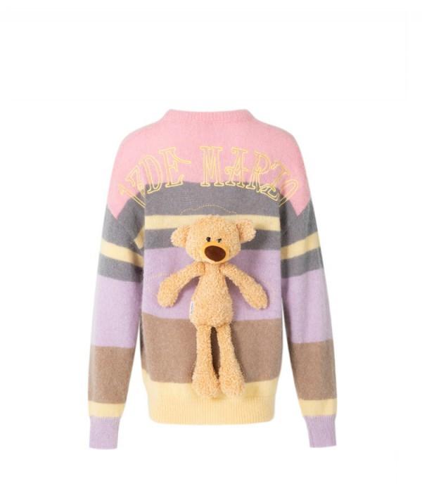 你是我的荣耀乔晶晶同款小熊毛衣是什么品牌