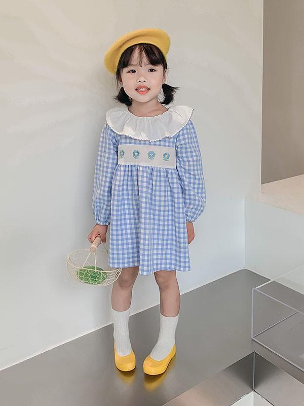 秋天�m合3-5�q小女孩穿的�B衣裙有哪些? 秋天小女孩的搭配指南!