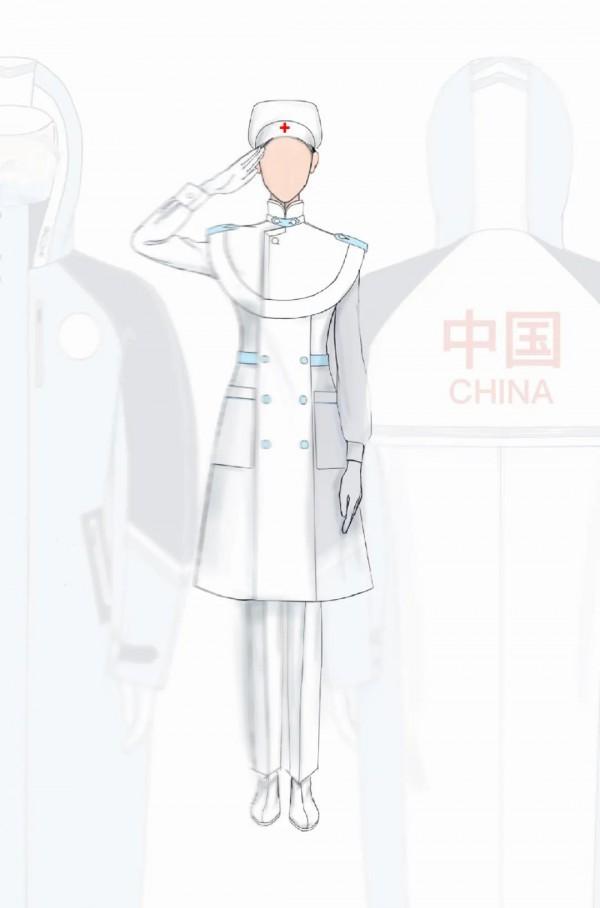 """北京服装学院 x 迪尚集团医护服装联合发布会:""""最美逆行者""""   SS22 CFW 特别呈现"""