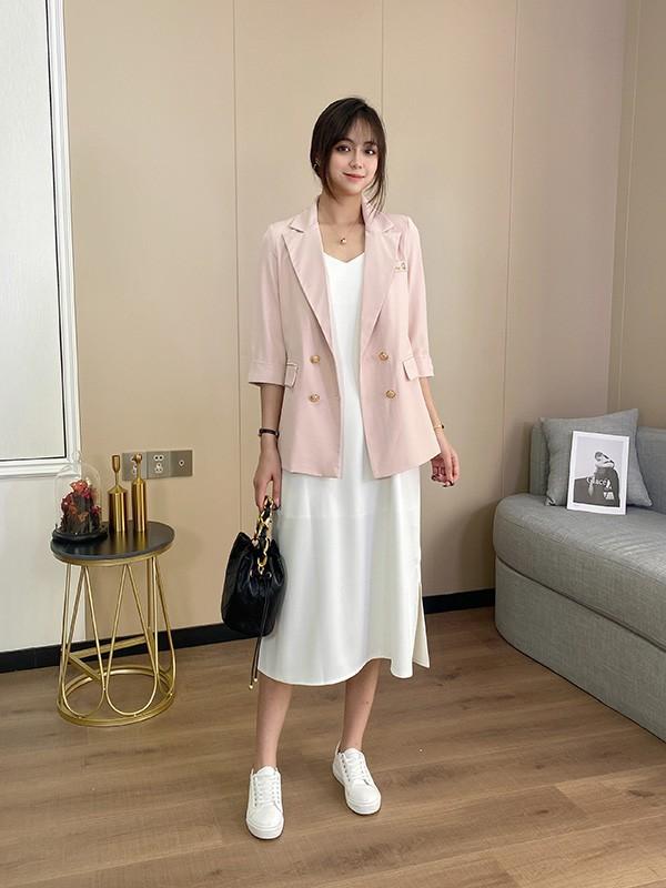 李沁最愛的西裝外套 值得入手的幾款服裝搭配你知道嗎