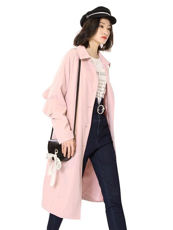 私服穿搭!迪丽热巴的粉色秋装怎么穿 这些搭配公式赶快get起来