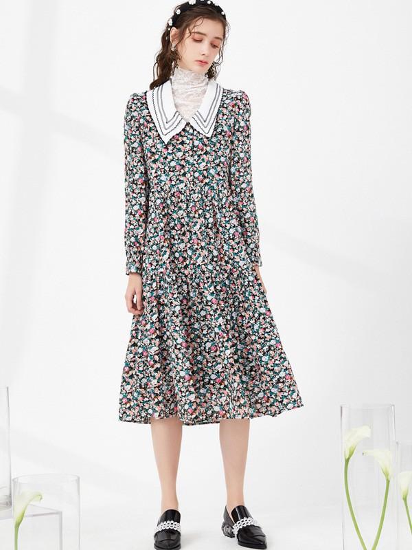 金晨时尚复古穿搭可以有多美 舒适温柔的设计很难不爱