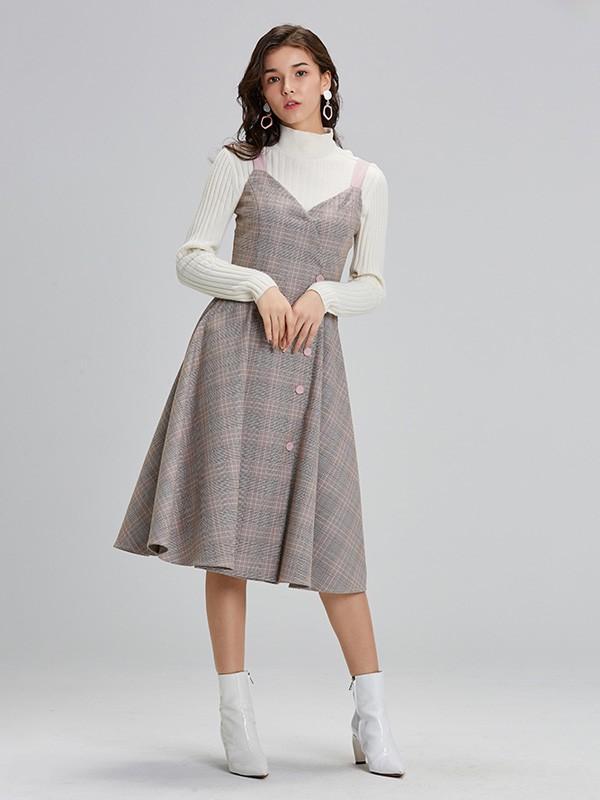 LeeMonsan2019秋冬装|样品编号:579280-女装加盟网