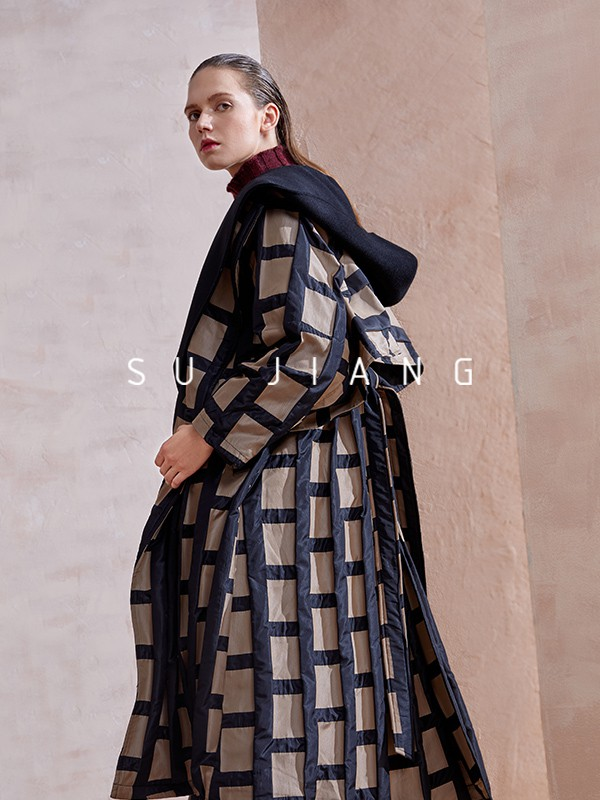 素匠2019秋冬装|样品编号:623016-女装加盟网