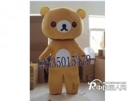 轻松熊出租 卡通人偶服出租 广州哪里有卡通服装出租