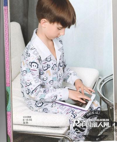 ny.cn成睡之都 秋冬新款 儿童睡?#24405;?#23621;服批发
