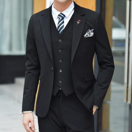 韩版西服批发中高端秋冬款男装品牌货源厂家直供