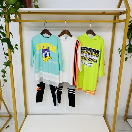 春季日韩日常搭配 穿出时尚潮童气质