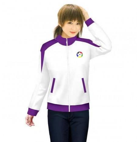 运动服装服饰,奥为品牌女款针织运动服装上衣长袖外套