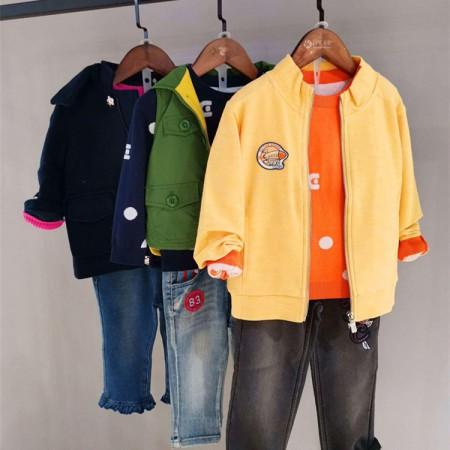 專櫃同步貨物ABC-361秋裝 品牌童裝扣頭一手貨源走份零售