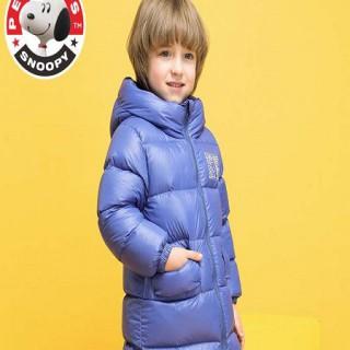 史努比儿童羽绒服 2020欧美风品牌童装冬装批发走份