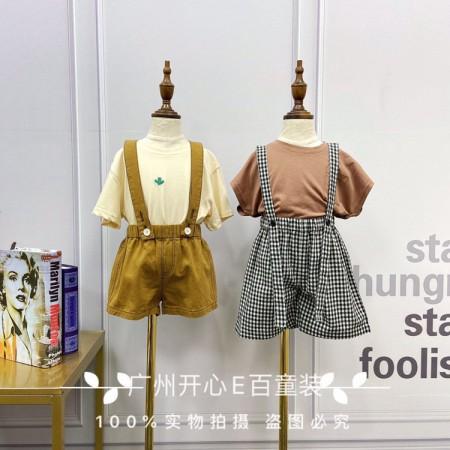 韩国品牌童装森么衣城优品  品牌童装折扣货源走份批发