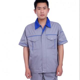 松江工作服定做全棉工作服批发夏季工作服厂家直销