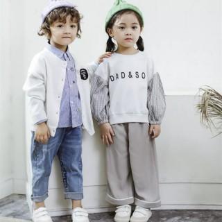 佐米熊童裝 2021春季時尚百搭小中大童 品牌折扣童裝批發