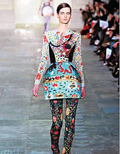 2013秋冬季服装搭配_巴洛克风格,巴洛克风格服装,巴洛克风格特点-中国丽人网