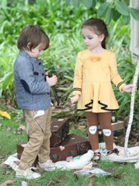 今年流行什么童装款式